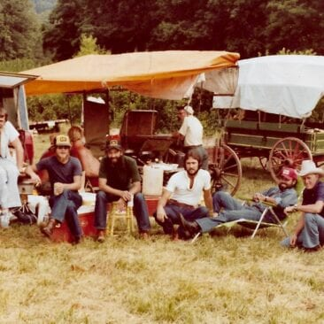 Wagon Train Camping